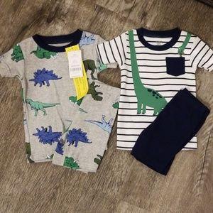NWT Carters baby boy pajama 2 pack